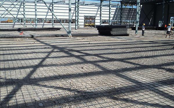 地面钢筋网片工程案例